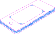 Drawing of a Cell Phone