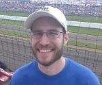 Greg at Indy 500
